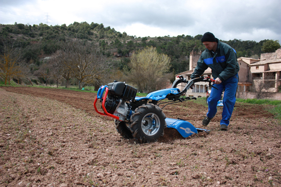 Prueba de campo motocultores BCS Powersafe diferencial