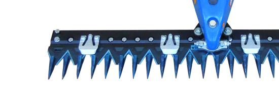 Los distintos tipos de barra de siega para motosegadoras BCS