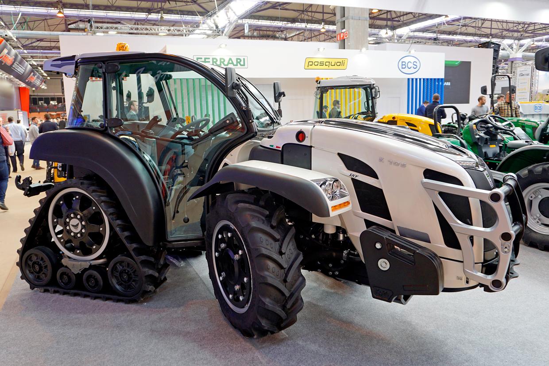 nuevo Sky Jump K105 en fima 2020 tractor de orugas traseras para cultivos en pendientes