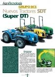 Nuevos tractores SDT