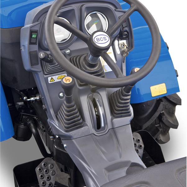 Mandos del tractor BCS Invictus K300-K400