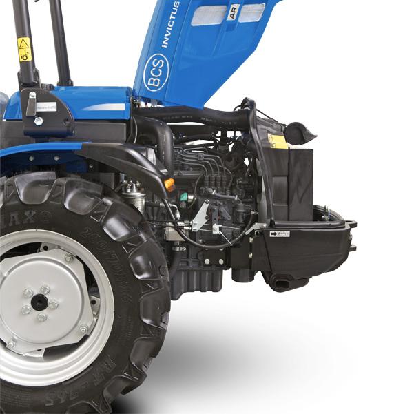 Motor del tractor BCS Invictus K300-K400
