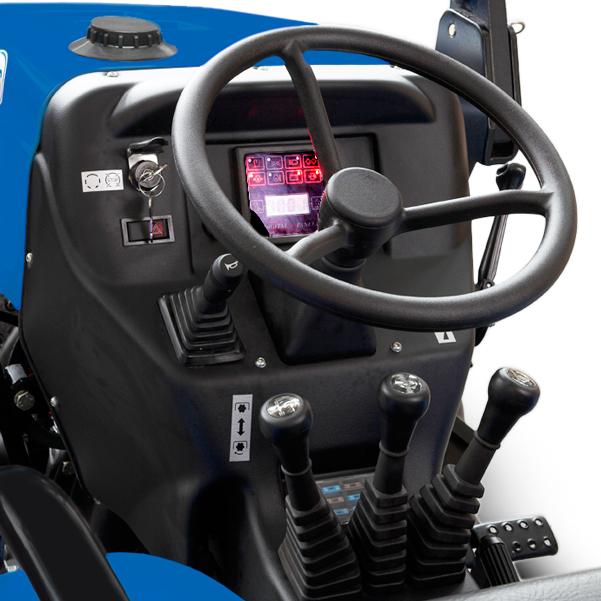 Mandos del tractor  BCS Vivid 300-400 DT