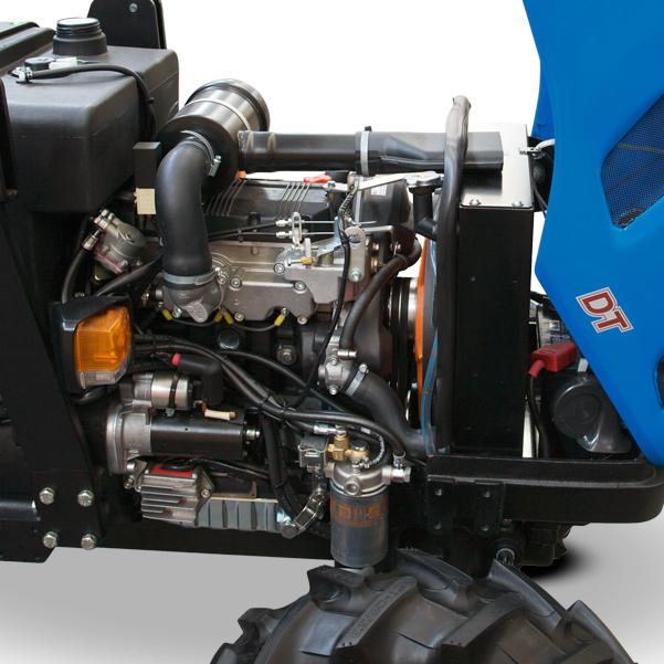 Motor del tractor BCS Vivid 300-400 DT