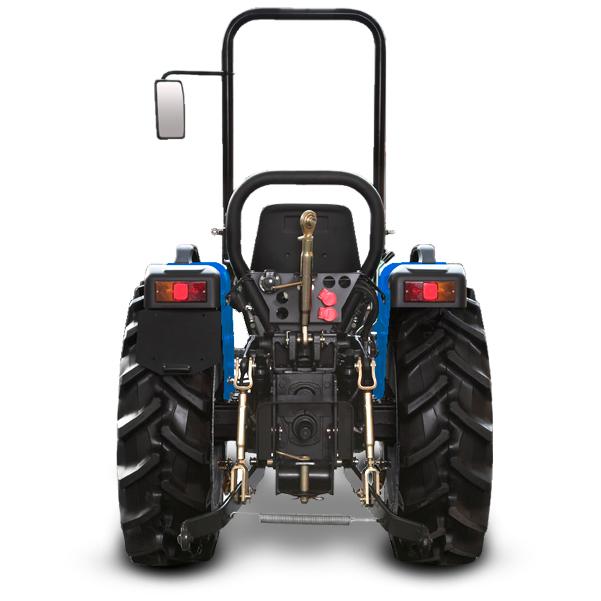 Vista posterior del tractor  BCS Vivid 300-400 DT