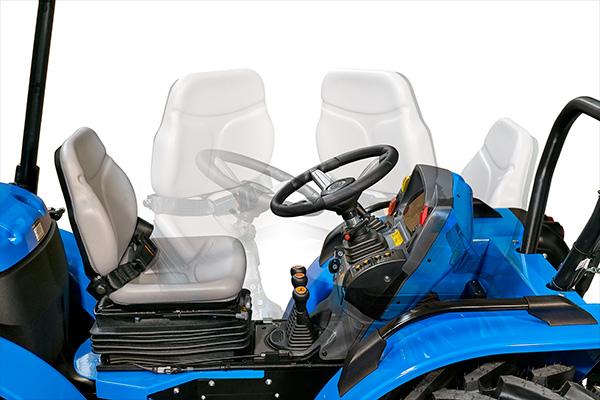 Reversibilidad tractor BCS Valiant L65