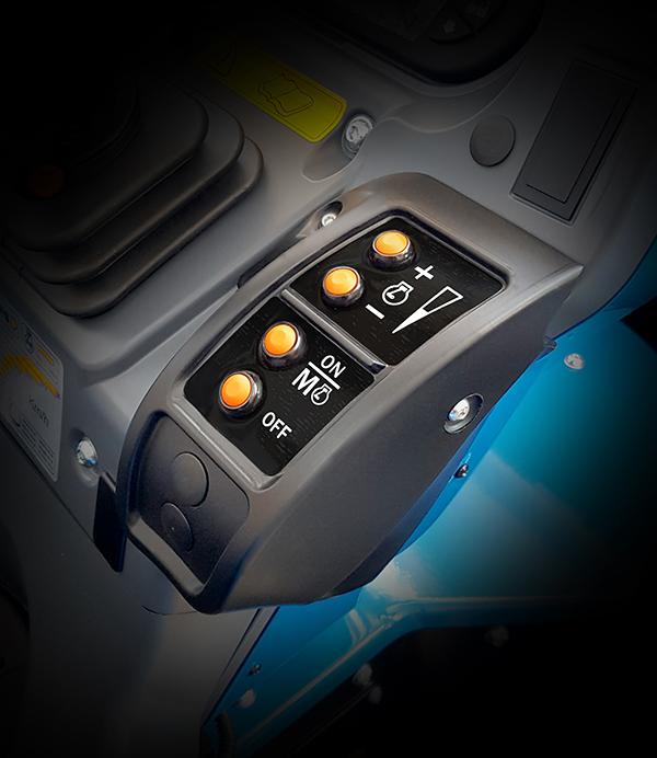 Control de revoluciones tractor BCS Valiant L65