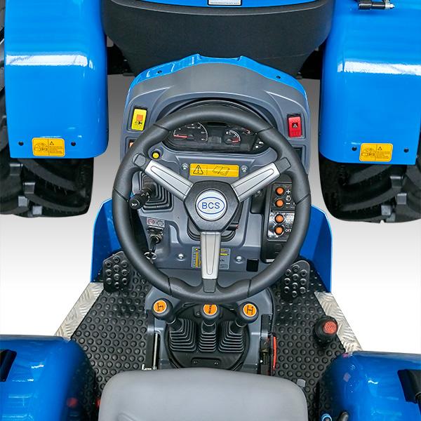 Reversibilidad del tractor BCS Valiant L65