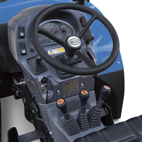 Mandos del tractor BCS Valiant 600