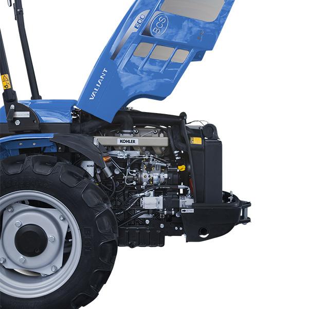 Motor del tractor BCS Valiant 600
