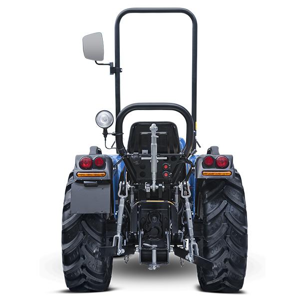 Vista posterior del tractor BCS Valiant 600