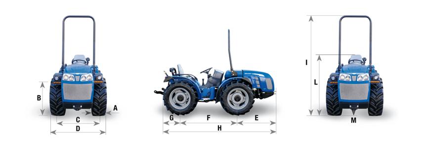 Tractor Valiant V650 RS BCS Agrícola