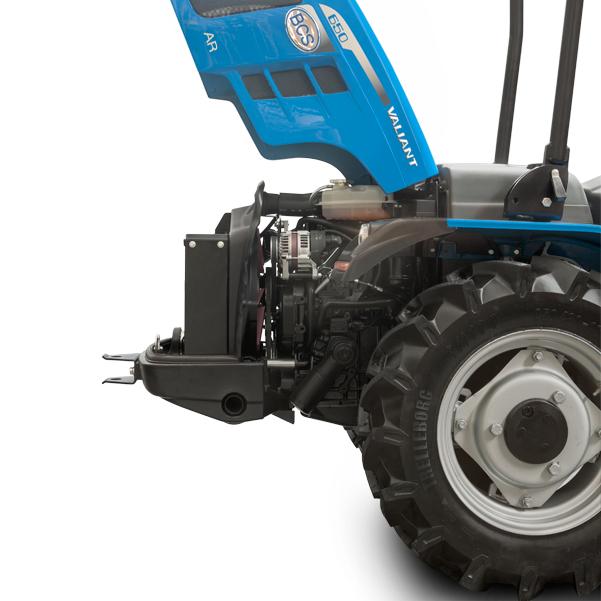 Motor del tractor BCS Valiant V650