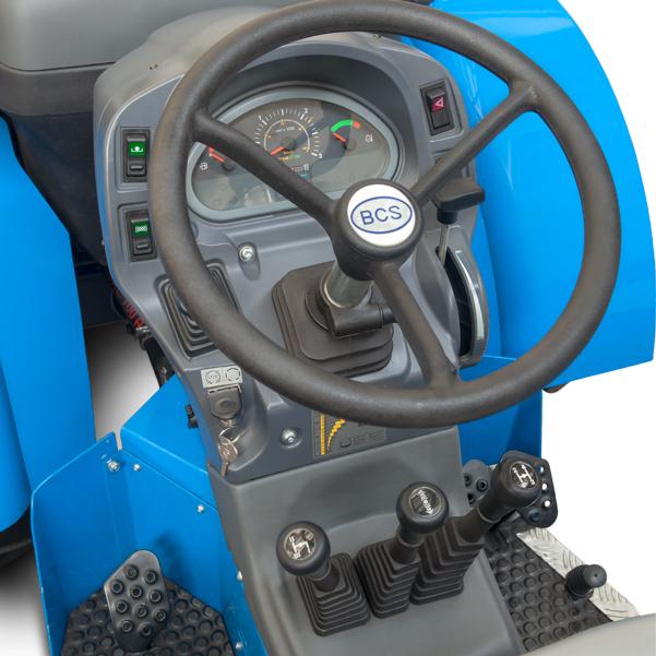 Mandos del tractor BCS Valiant V650