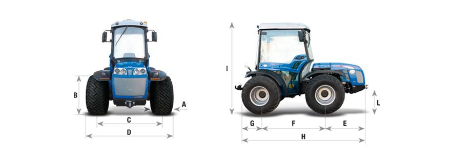 Valiant 650 MT Tractor Agrícola BCS