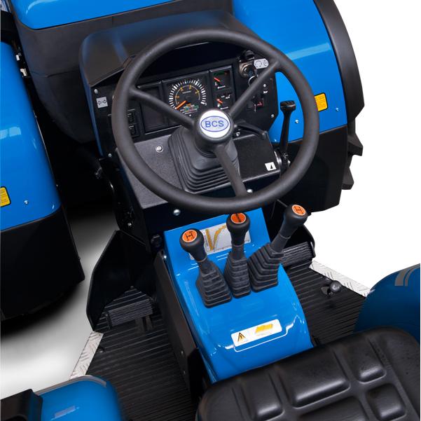 Mandos del tractor BCS Vithar 750-850-950