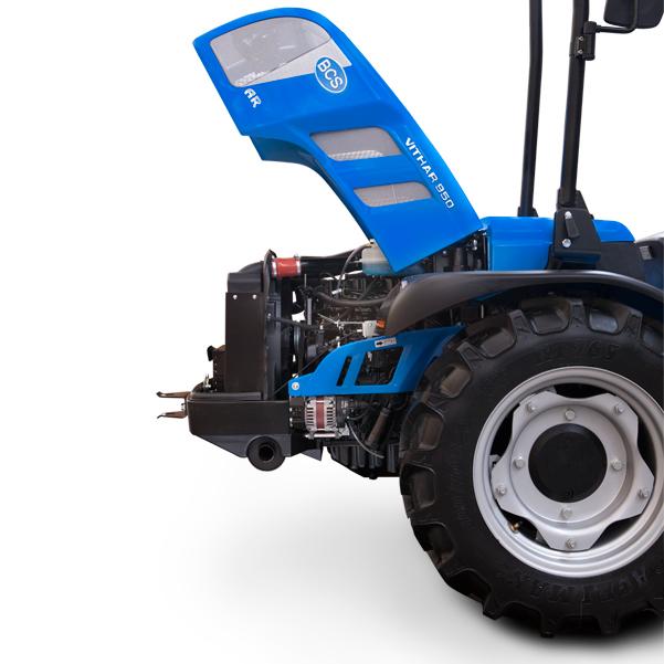 Motor del tractor BCS Vithar 750-850-950