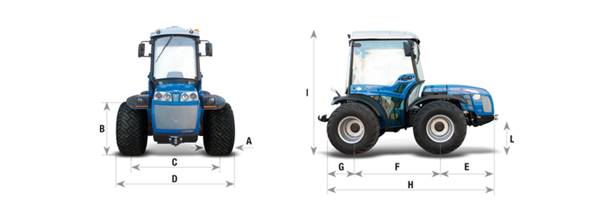 Tractor Volcan 950 MT BCS Maquinaria Agrícola