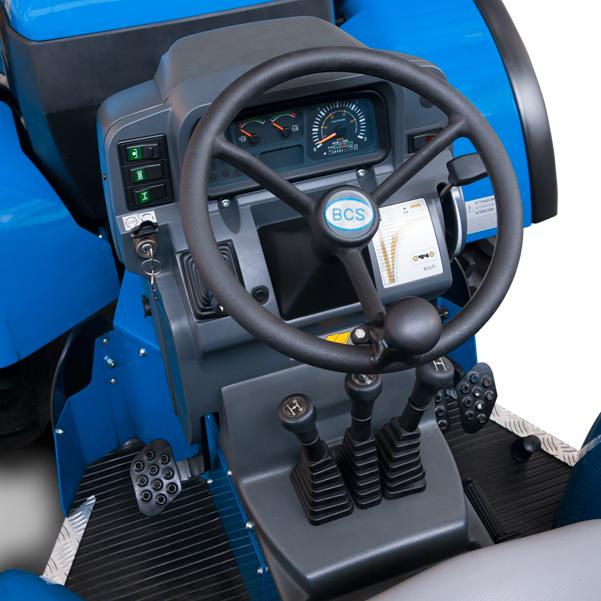 Mandos del tractor BCS Volcan 850-950 SDT