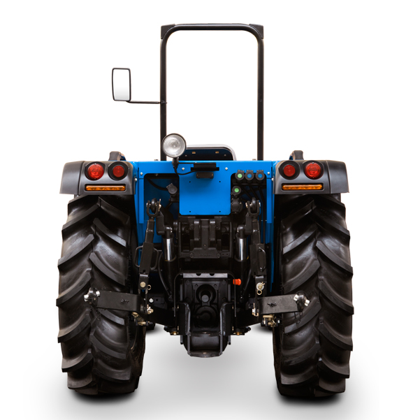 Vista posterior del tractor BCS Volcan 850-950 SDT