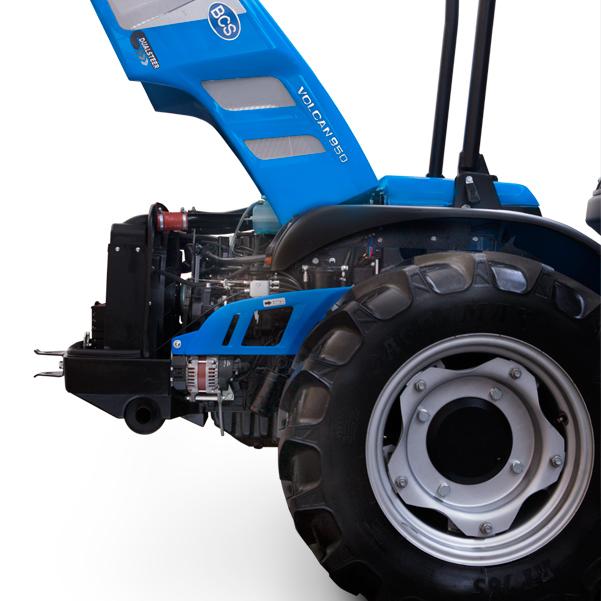 Motor del tractor BCS Volcan 850-950