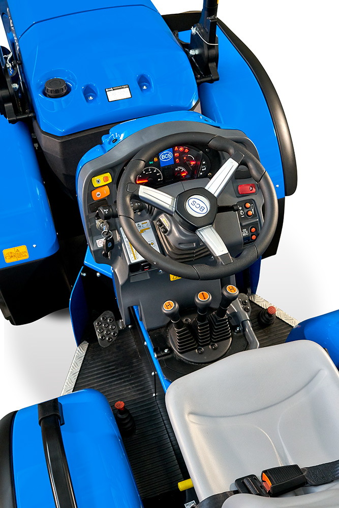 Tractor BCS Vithar L80N Detalle Mandos