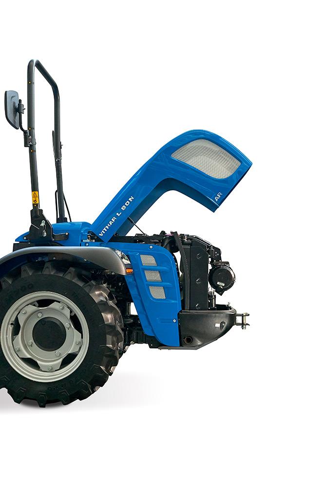 Motor tractor BCS Vithar L80N AR