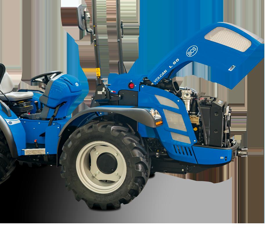 Motor tractor Volcan L80 RS - BCS Agrícola