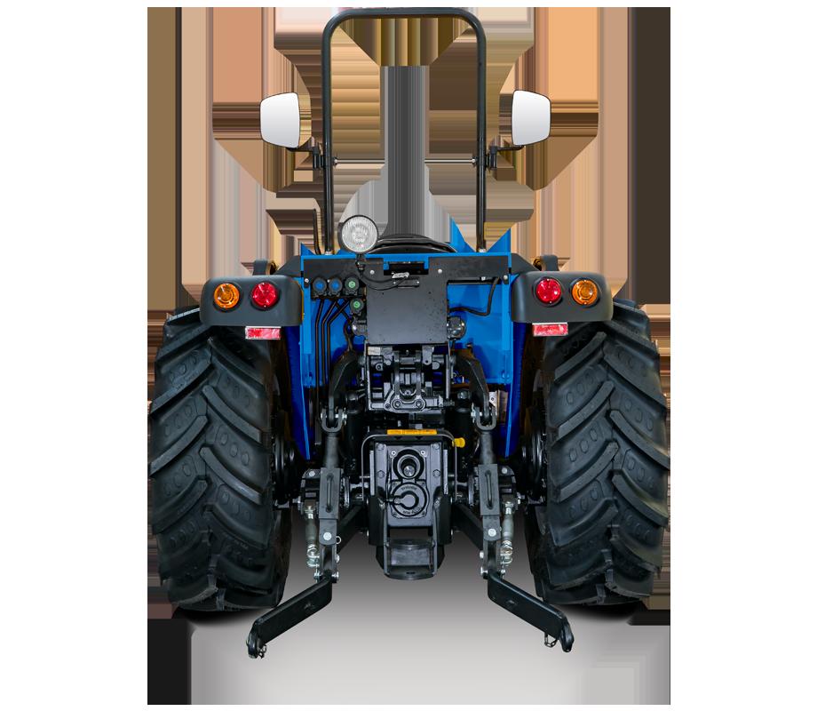 Toma de fuerza e hidráulica - Volcan L80 SDT RS - Tractor BCS Agrícola