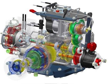 Transmisión hidrostática 660 HY WS