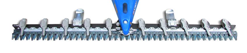 Barra de siega láser elasto para motosegadoras BCS