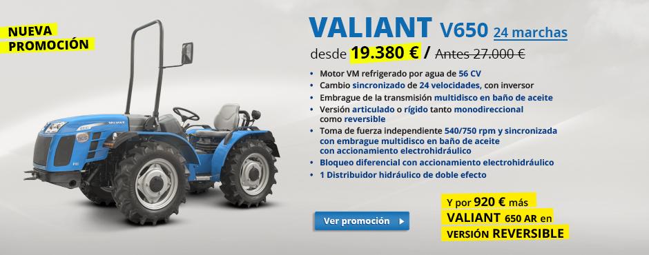 Valiant V650 - nueva promoción